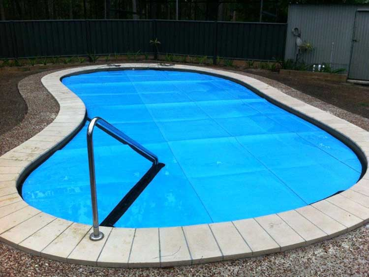 Sunbather pool cover