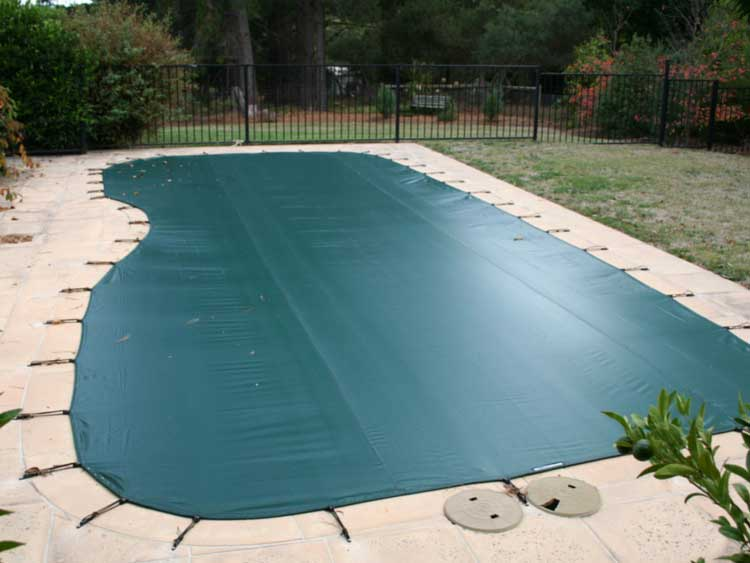 Winter Mesh Pool Cover