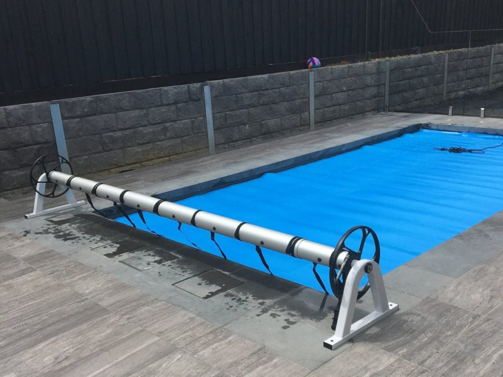 Pool Covers and Rollers - Sunbather Solar Pool Heating and Pool Covers