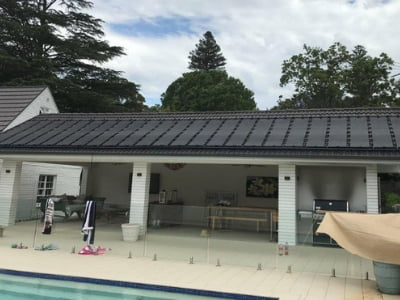 RIGID SOLAR POOL HEATING PANELS